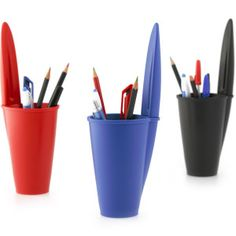 BiC pen lid pen holder all colours Pencil Holder, Pen Holders, Cool Stationary, Online Gift Store, Bic Pens, Gadgets And Gizmos, Thinking Outside The Box, Unusual Gifts, Novelty Gifts