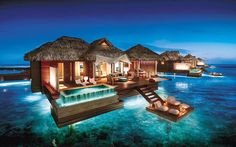 """Sandals Over-Water Bungalow Update Adams Stewart – CEO and Deputy Chair of Sandals resort tweeted out some great information and a new image, a rendering not a photo. The tweet said… """"The next generation of #Caribbean #Tourism by @SandalsResorts is about to break ground. #Jamaica"""" New Sandals Over-Water Bungalow Photo Sandals Resort Over-Water Bungalow Rumors …"""