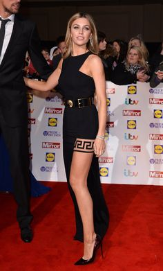 Pin for Later: Cheryl Joins the Stars Celebrating the Best of British Abbey Clancy The reigning Strictly Come Dancing champion showed off her amazing legs in a Versus dress. Nice Legs, Beautiful Legs, Amazing Legs, Beautiful Women, Sexy Lingerie, Stockings Lingerie, Nylons, In Pantyhose, Sexy Legs And Heels