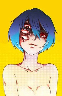 REI by red-meow on DeviantArt - sid 🔪 - Neon Genesis Evangelion, Rei Ayanami, Arte Horror, Horror Art, Anime Manga, Anime Art, Creepy Art, Fan Art, Anime Characters
