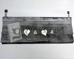 #bracciale in #argento 925 maglia piatta con ciondoli a #cuore http://www.glesa.it/vetrine/linea_cuore_925