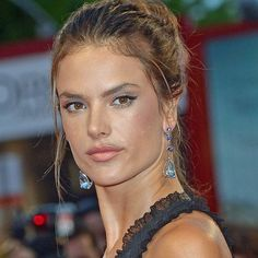 At the Venice Film Festival, Brazilian model Alessandra Ambrosio accessorised her flowing gown with white gold earrings from Chopard's Temptations collection set with pear-shaped aquamarines, heart-shaped tanzanites, sapphires and amethysts.