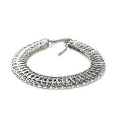 cleo pop-top necklace. #pulltabs