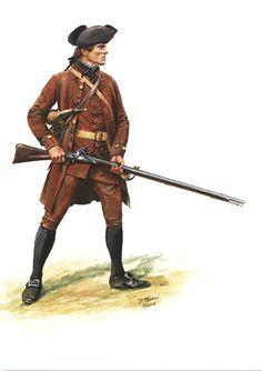 American; Massachusetts Militiaman by Don Troiani