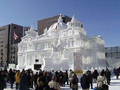 At the Sapporo Snow Festival ...http://www.smashingmagazine.com