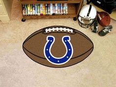 """NFL - Indianapolis Colts Football Rug 20.5""""x32.5"""""""