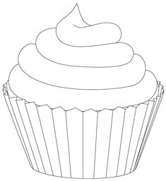 44 Best cupcake template images | Cupcake template ...
