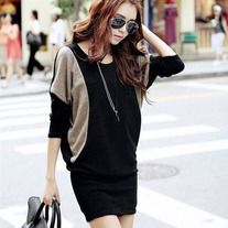 Stylish loose casual long batwing dress for the modern fashionista Edgy design offers a modern stylish look Perfect for special occasions or parties Made from high quality material Batwing Dress, Batwing Sleeve, Long Sleeve, Bat Sleeve, Cheap Dresses, Casual Dresses, Office Dresses, Women's Dresses, Vintage Dresses