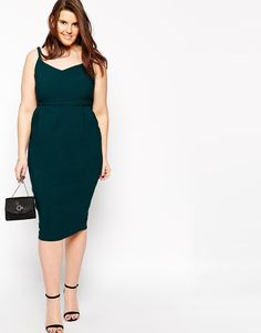 Plus size - she is looking good! Hitchcock Pencil Dress