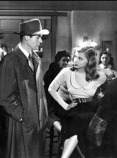 Robert Ryan and Nita Talbot in an archetypal film noir scene from On Dangerous Ground (Nicholas Ray - detective and femme fatale - though Talbot's character soon fades from the scene. Classic Film Noir, Classic Films, Vintage Hollywood, Classic Hollywood, Old Hollywood Movies, Hollywood Glamour, Dvd Collection, Film Noir Photography, Nicholas Ray