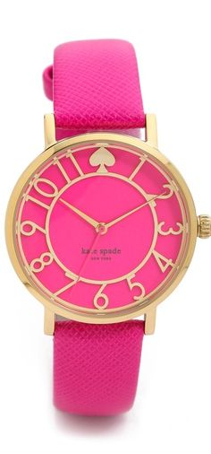 I don't wear a watch but I seriously love this Kate Spade.
