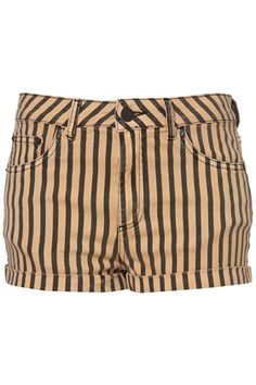 I don't like that these are high waisted, but I like the fabric and pattern