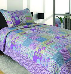 Mk Collection Twin Size 2 Pc Bedspread Teens/girls Purple Lavender Floral New 002 MK Home http://www.amazon.com/dp/B0163IM5SW/ref=cm_sw_r_pi_dp_lJxEwb1JFGFGZ