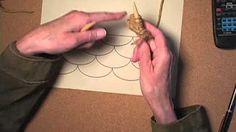 Knitted Modular Scallops-Part 2 - YouTube