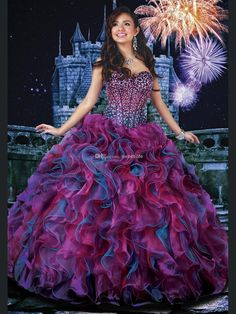Quinceanera Gowns for Full Figured Women-3: Plus Size Super Store ...