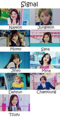 Twice Signal Who's Who K Pop, Signal Twice, Twice Group, Blackpink Lisa, New Love, One In A Million, Jikook, Nayeon, Bias Wrecker