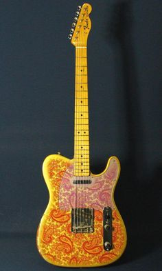 Telecaster Paisley Red 1968