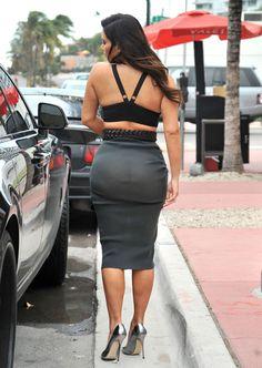 Kim Kardashian, panties are a must!