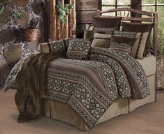 Tucson Comforter Sets from HomeMax Imports. HiEnd Accents take pride in itself as a leader in the luxury southwestern Tucson bedding.