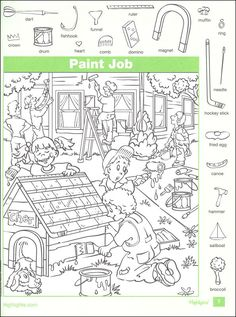 Highlights Hidden Pictures: Bumper Crop Details - Rainbow Resource Center, Inc. Colouring Pages, Coloring Books, Hidden Pictures Printables, Highlights Hidden Pictures, Find The Hidden Objects, Hidden Picture Puzzles, Rainbow Resource, English Lessons, Phonics