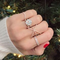 Nicole Of Ring Concierge - Engagement Ring Expose - ring selfie, wedding, old mine cut diamond engagement ring