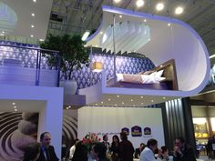 ITB Berlin 2014 - The Hanging Bed of Best Western