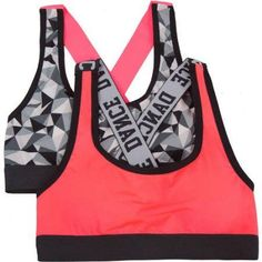 Fruit Of The Loom Girls  Banded Sports Bra 2b626b415