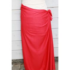 Red Color-Pareo-Solid Color-Full and Half Sized Plus Size-Rayon Sarong... ($7) ❤ liked on Polyvore featuring swimwear, cover-ups, grey, women's clothing, women's plus size swimwear, plus size beach wear, plus size fringe swimwear, plus size swim wear and rayon sarong