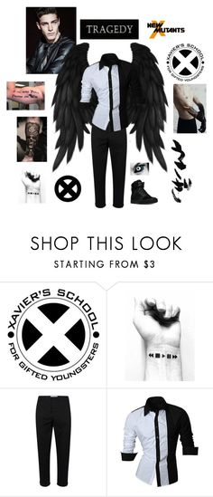 """New X-Men Hades: Xavier's  (SEE DESCRIPTION)"" by americanreject ❤ liked on Polyvore featuring Topman, Supra, men's fashion and menswear"