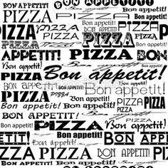 Padrão de pizza perfeita. — Ilustração de Stock #66627611