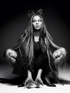 Beyonce on the cover of CR Fashion Book Issue #5 by Pierre Debusschere