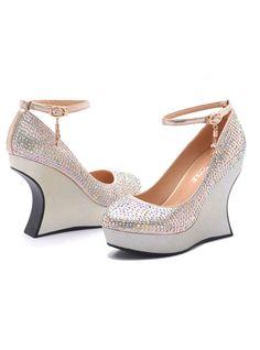 Diamond High-heeled Shoes