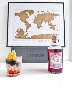 """I work alone, but that doesn't mean I don't like happy hour after work  I put a Christmassy twist on my G&T with sloe gin and blackberries... so good! If…"""