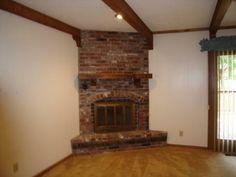 corner fireplaces   Corner fireplace