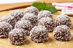 Palline di cioccolato e cocco: la ricetta velocissima senza cottura