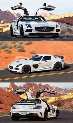 The Mercedes SLS Gullwing was unveiled at the Frankfurt Motor Show in 2009 and went into production in It is a two door grand tourer that has a distinctive wing style door opening. Maserati, Bugatti, Lamborghini, Ferrari, Audi, Bmw, Mercedes Benz Amg, Koenigsegg, Supercars