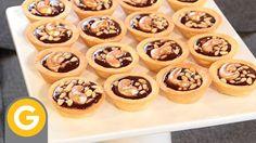 MASA SABLEE: Mini tartaletas dulces rellenas con Caramelo de anis y chocolate Chff. Osvaldo Gross. Prog. Elgourmet.com https://www.youtube.com/watch?v=wbCvIyfmW1Y&list=PLjG1pSeImzYO9vx2B8qTACyEEMrM-9b_E&index=57