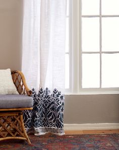 Curtains are one of those things that can definitely break the bank and make you wonder how 1 curtain panel can cost upwards of $300. But there are some pretty inexpensive, simple readymade curtains out there, they just needed a little bit of help. So we wanted to save a few pennies and have some... Read More …