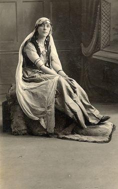 Gypsy taken in a studio.