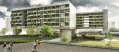 Projeto de Hotel e Centro de Convenções em Campinas-SP