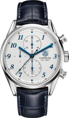 @tagheuer Watch Carrera Heritage Chronograph Calibre 1887 #bezel-fixed…