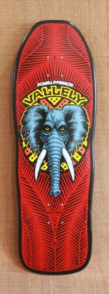 "Powell 30"" Vallely Elephant Skateboard Deck"