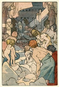 Alphonse Mucha - image from 'Commius of the Atrebates' 2