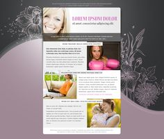 Email Newsletter Templates Email Newsletters, Newsletter Templates, Email Marketing, Lorem Ipsum