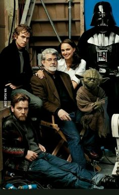 George Lucas and friends
