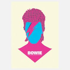 David Bowie Print 11.7x16.5 now featured on Fab.