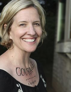 Brene Brown is an amazing researcher and storyteller who has studied the topics of shame and wholehearted living extensively. She and her talks and writing inspire me so much!