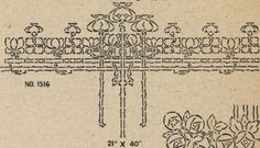 "Laurelhurst Craftsman Bungalow: Stencil design from ""Excelsior"" Fresco Stencil catalog from 1924. Includes website where you can still buy it."