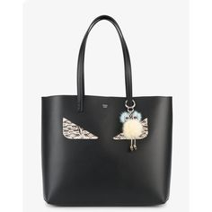 Fendi Chick Keyring (8.840 ARS) ❤ liked on Polyvore featuring accessories, fendi and brass key ring