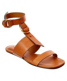 d1a05eaa2f0e CHLOÉ Chloe Kingsley Leather Flat Sandal .  chloé  shoes  sandals